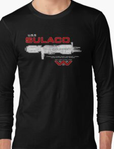 U.S.S. Sulaco - Aliens Long Sleeve T-Shirt