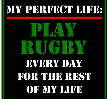 My Perfect Life: Play Rugby by cmmei