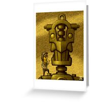 Nice Robot! Greeting Card