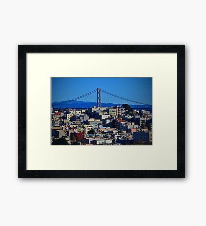 San Francisco U.S.A. Framed Print
