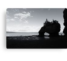Hopewell Rocks Canvas Print