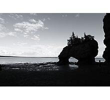 Hopewell Rocks Photographic Print