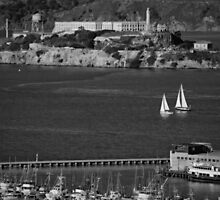 Alcatraz Island San Francisco Bay by seeyoutoo