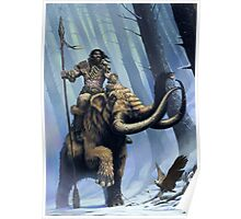 Frost Giant on Mammoth Poster