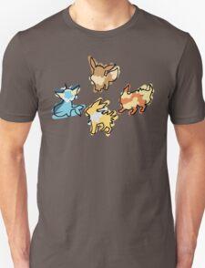 Eevee Vaporeon Jolteon Flareon T-Shirt