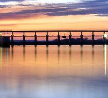 Arkansas River Bridge at Springhill Park by Mitchell Tillison