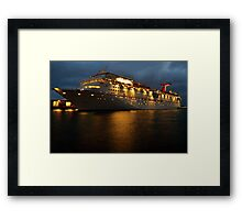 Night Carnival- Lighting Up The Night Framed Print