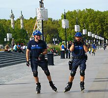 """French """"Blade Police"""" by Marilyn Harris"""