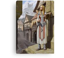 Mika the Cleric Canvas Print