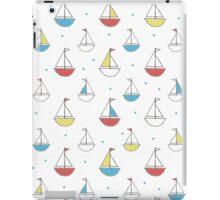 Little Sailboats Simple iPad Case/Skin