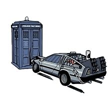 Dr Who Vs Back To the Future by DeckardTop