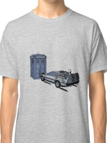 Dr Who Vs Back To the Future Classic T-Shirt