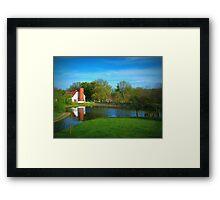 Allendale At Left Framed Print