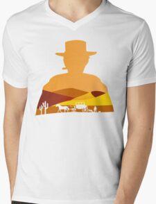 2 Types of people Mens V-Neck T-Shirt