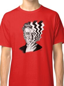 David Lynch smoking Classic T-Shirt