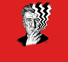 David Lynch smoking Unisex T-Shirt