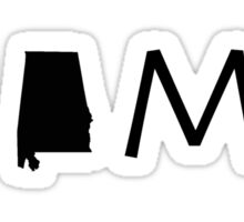 ALABAMA HOME Sticker