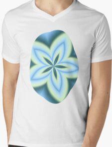 String Art Flower in MWY 01 Mens V-Neck T-Shirt