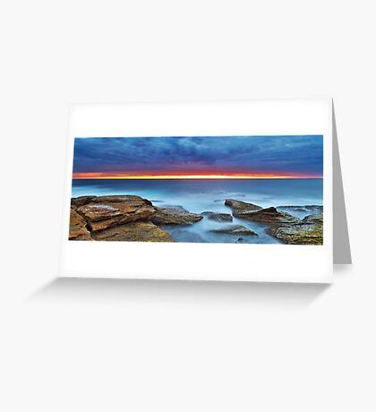 Silky Dawn Greeting Card