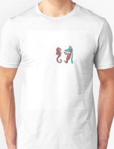 seahorse male female  011 T-Shirt