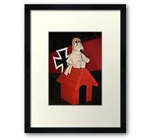 Snoopy and the Red Baron! Framed Print