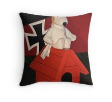 Snoopy and the Red Baron! Throw Pillow