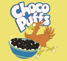 Coo Coo for Choco Puffs- Final Fantasy Spoof  Kids Tee