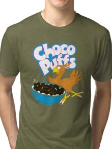 Coo Coo for Choco Puffs- Final Fantasy Spoof  Tri-blend T-Shirt