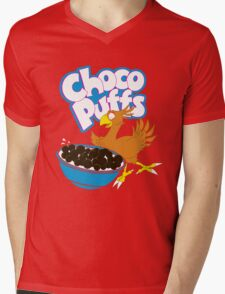 Coo Coo for Choco Puffs- Final Fantasy Spoof  Mens V-Neck T-Shirt