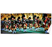 Part Time Pipe Band, Marching For Saint Patrick Poster
