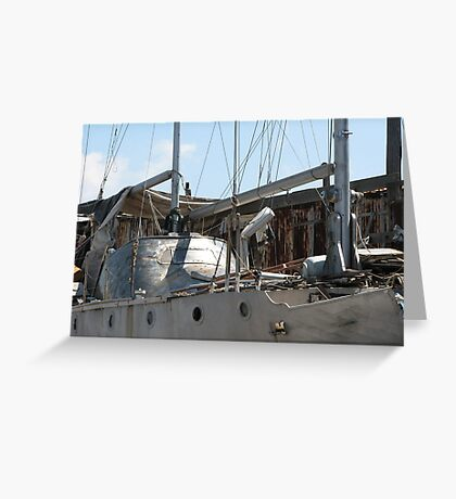 Ghost Ship Greeting Card