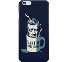 Cup of coffee - David Lynch iPhone Case/Skin