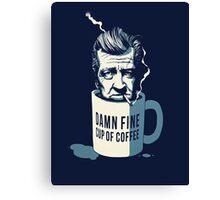 Cup of coffee - David Lynch Canvas Print