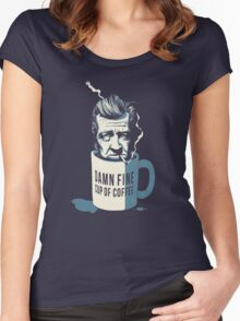 Cup of coffee - David Lynch Women's Fitted Scoop T-Shirt