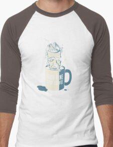 Cup of coffee - David Lynch Men's Baseball ¾ T-Shirt