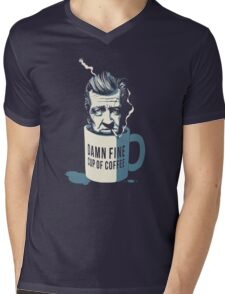 Cup of coffee - David Lynch Mens V-Neck T-Shirt