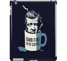 Cup of coffee - David Lynch iPad Case/Skin