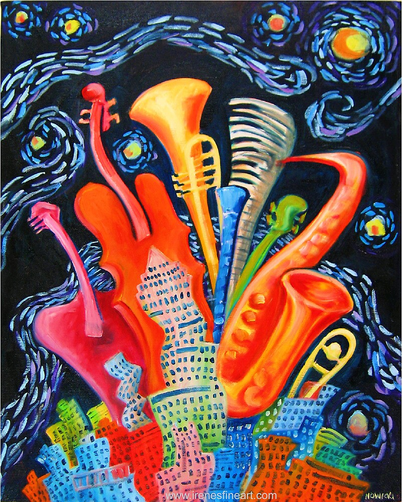 JAZZ CITY by IRENE NOWICKI