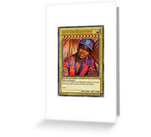 Lil B the based god. Greeting Card