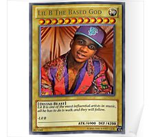 Lil B the based god. Poster