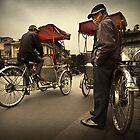 The Cyclo Driver #0101 by Michiel de Lange