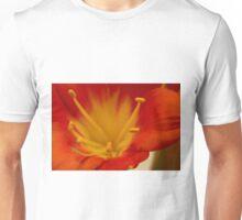 Orange Clivia Lily - Macro Unisex T-Shirt