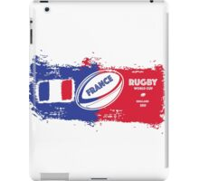 France Rugby World Cup Supporter iPad Case/Skin