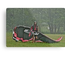 Man In the Rain . Handsome  Viking kitesurfer in action . by Brown Sugar. F* Views (410) favorited by (1) thank you very much ! Metal Print