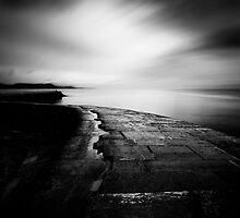 The Cobb - Lyme Regis, Dorset by Keith  Aggett