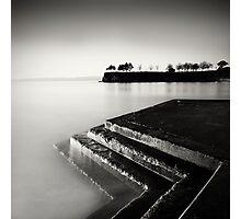 Chevrons - Torquay, Devon Photographic Print