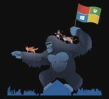 Ninjacat King Kong Gorilla by amang