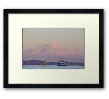 Iconic Washington State  Framed Print