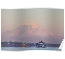 Iconic Washington State  Poster