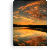 Angels On High - Narrabeen Lakes, Sydney - The HDR Experience Canvas Print